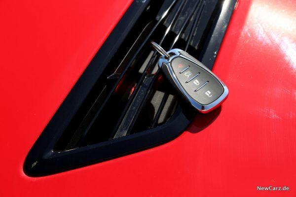 Chevrolet Camaro Coupé Schlüssel