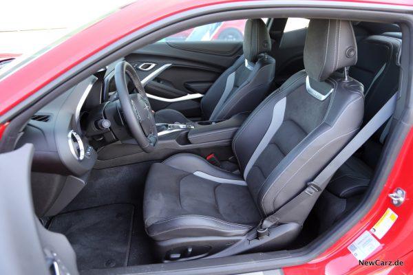Chevrolet Camaro Coupé Recaro Sitze