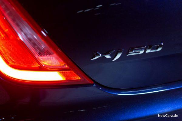 Jaguar XJ50 Schriftzug
