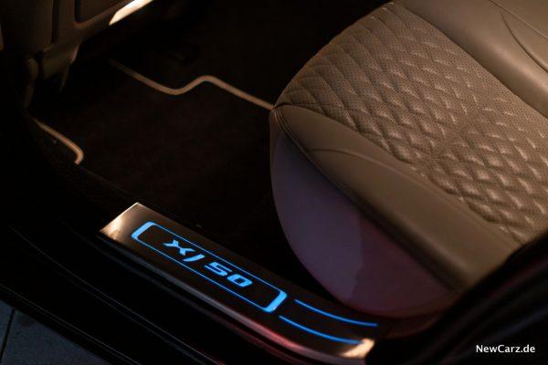 Jaguar XJ50 Einstiegsleisten