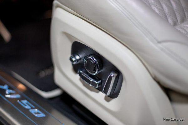 Jaguar XJ50 Sitzverstellung
