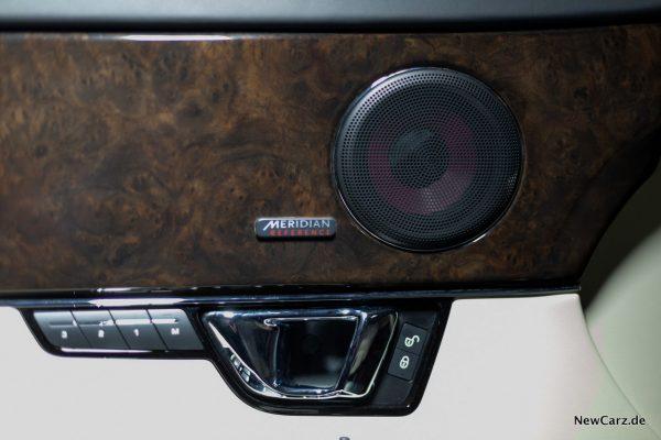 Jaguar XJ50 Meridian Reference Soundsystem