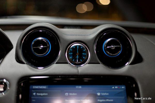 Jaguar XJ50 analoge Uhr