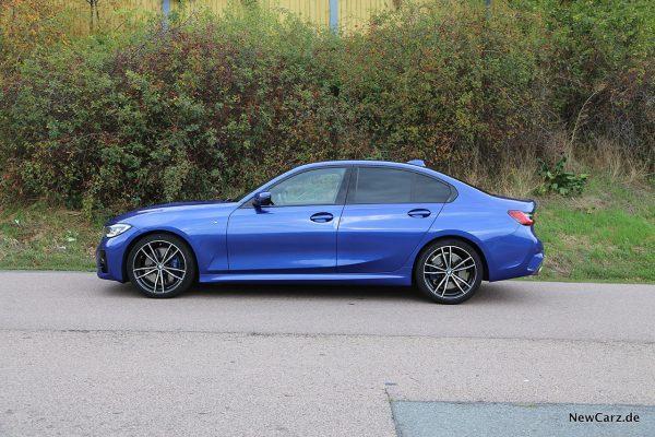 Seitenansicht BMW 3er G22