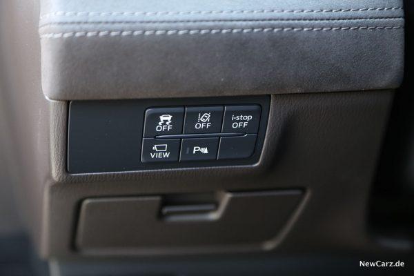 Assistenzsysteme im Mazda6 Kombi Facelift