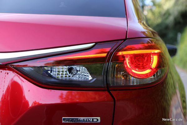 Rücklicht Mazda6