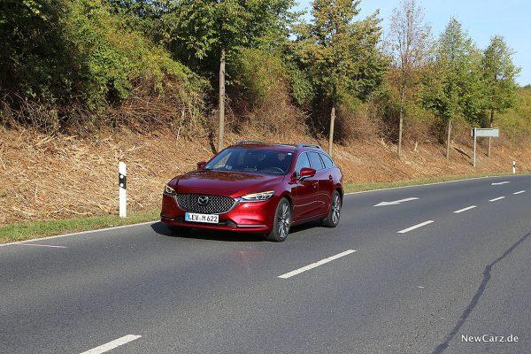 Onroad mit dem Mazda6 Kombi Facelift