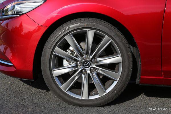Vorderrad Mazda 6