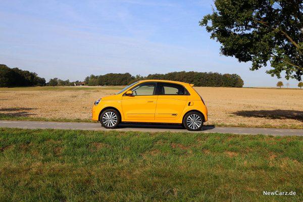 Renault Twingo Facelift Seite