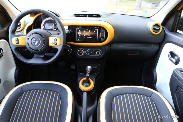 Interieur Twingo Facelift