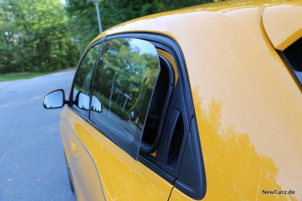 Seitenfenster hinten Twingo Facelift