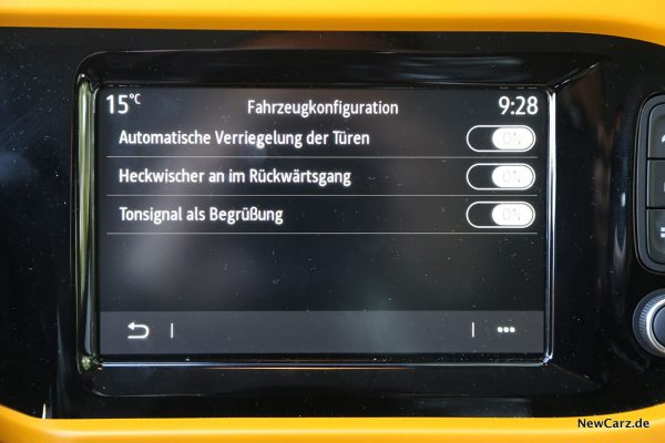 Touchscreen Twingo