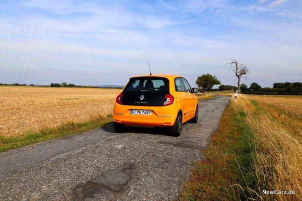 Renault Twingo Facelift schräg hinten rechts