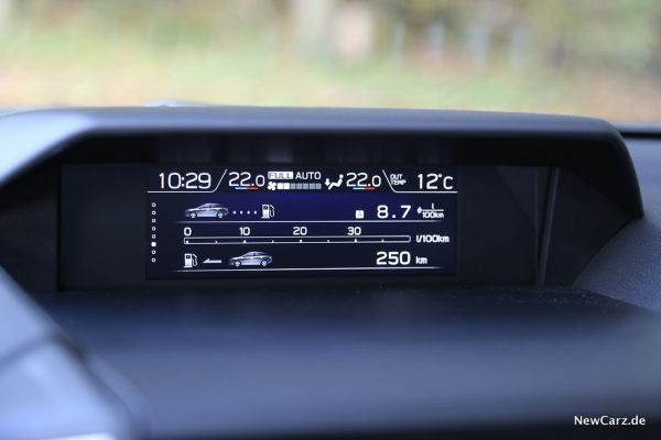 Multiinfodisplay Subaru