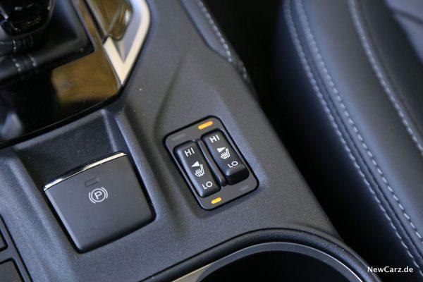 Sitzheizung Subaru 2019