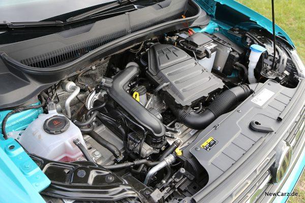 Motorraum VW T-Cross