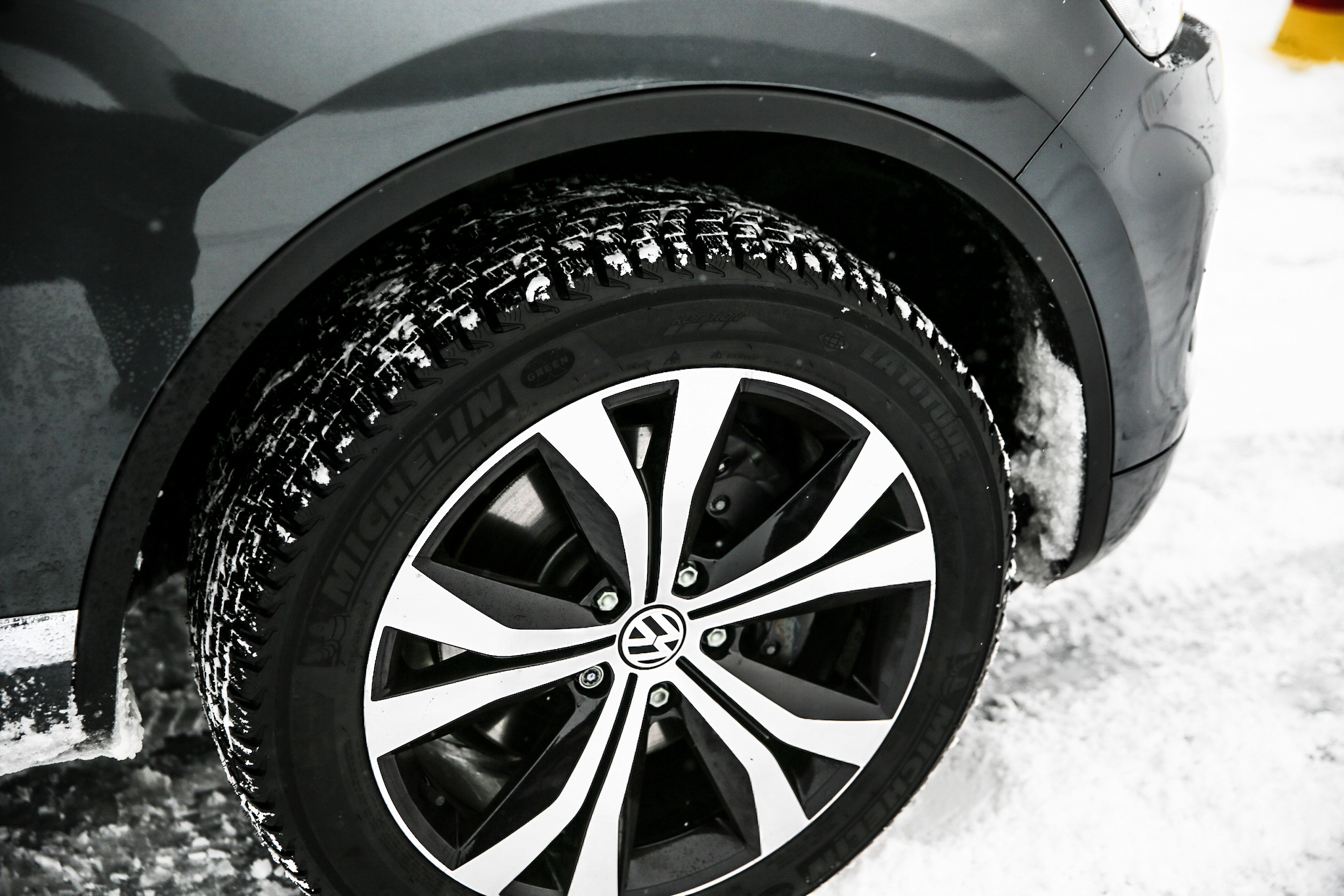 Winterreifen-Test Volkswagen Touareg 387