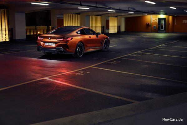 BMW 8er Sunset Orange