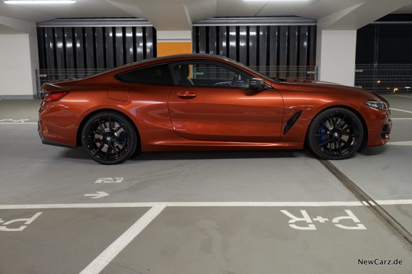 BMW M850i xDrive Seite