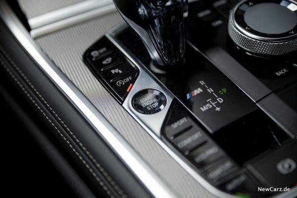 Fahrmodi BMW 8