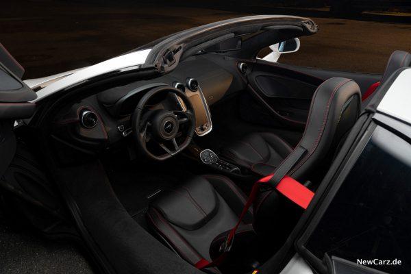 McLaren 570S Spider Sitze