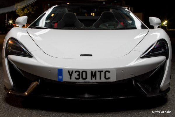 McLaren 570S Spider Frontansicht