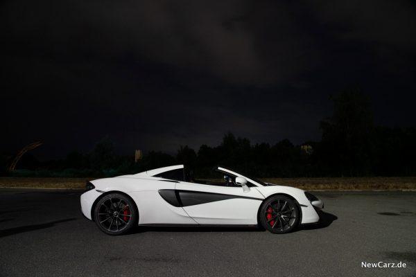McLaren 570S Spider Seite