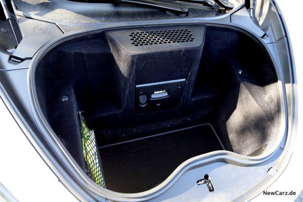 McLaren 570S Kofferraum