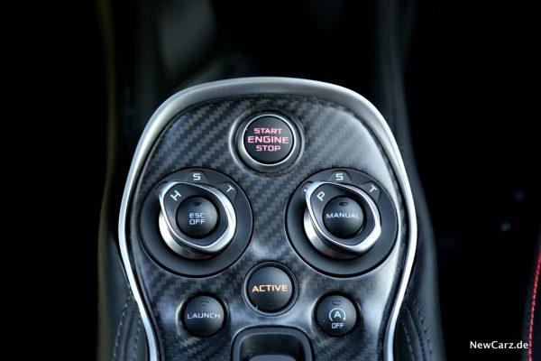 McLaren Fahrmodi