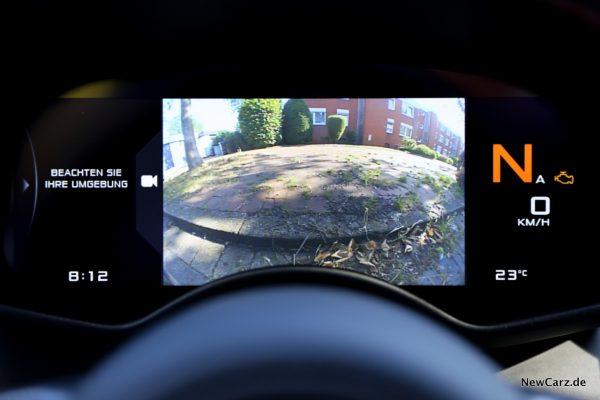 McLaren Rückfahrkamera
