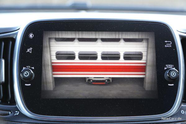 Zentralbildschirm Abarth 595