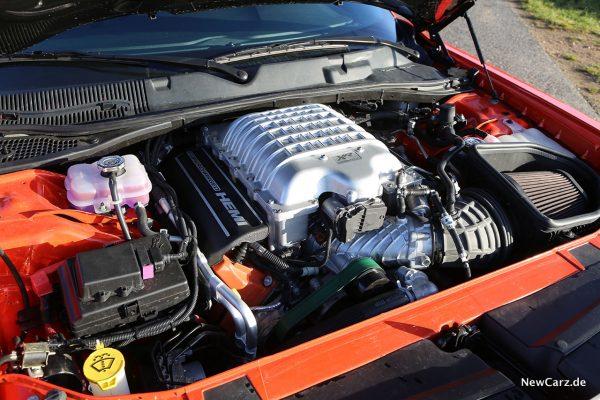 Motorraum Dodge Challenger SRT Hellcat XR