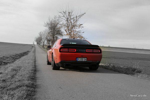 Dodge Challenger SRT Hellcat XR schräg hinten links