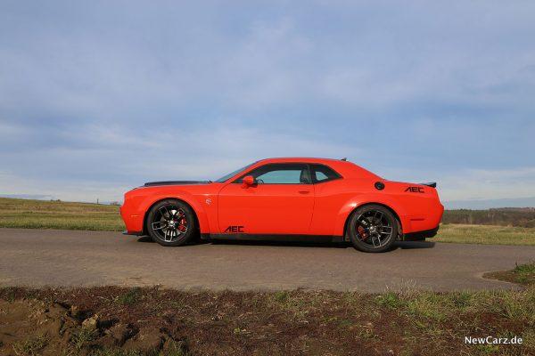 Dodge Challenger SRT Hellcat XR Seite