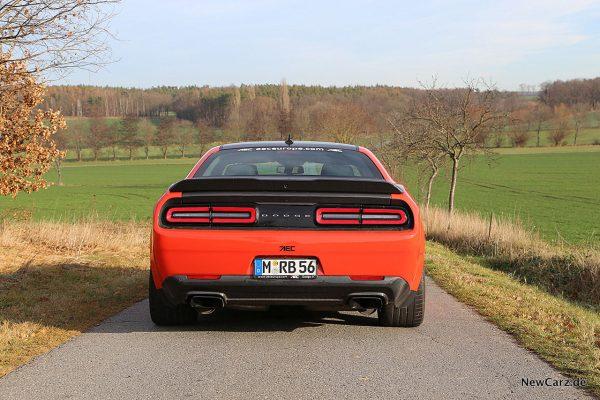 Dodge Challenger SRT Hellcat XR Heck
