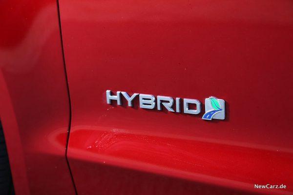 Hybrid Plakette