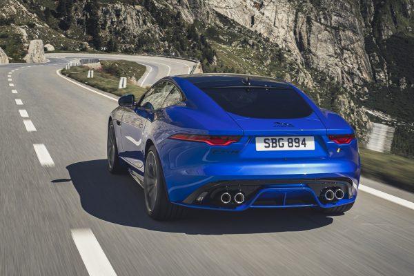 Jaguar F-Type 2020 schräg hinten links