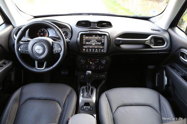 Interieur Jeep Renegade