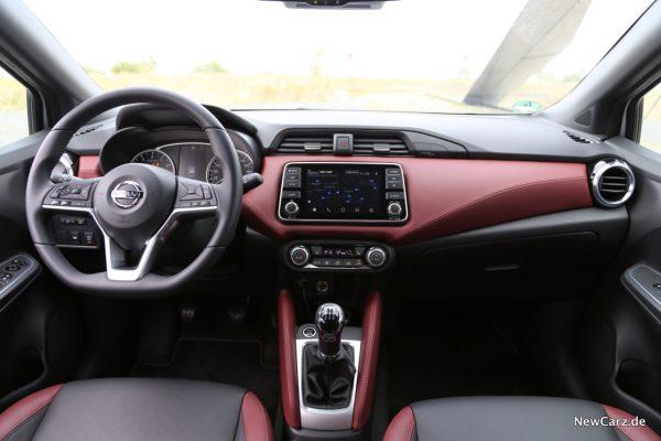 Interieur Nissan Micra Tekna