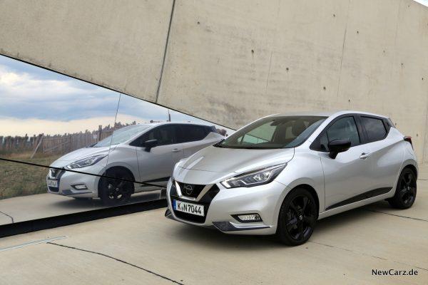 Nissan Micra Tekna Spiegel