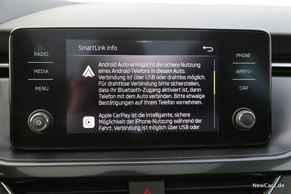 Android Auto und Apple CarPlay