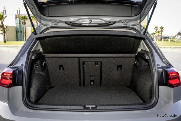 Kofferraum Golf 8