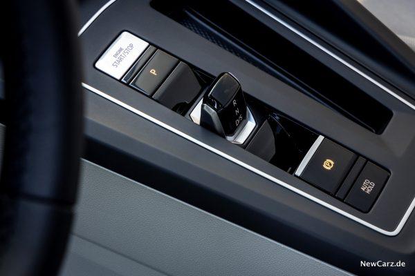 Wahlhebel im Volkswagen Golf 8