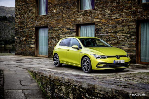 Volkswagen Golf 8 Limonengelb