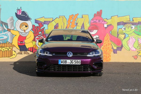 VW Golf 7 R Front