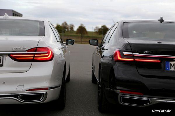 BMW 7er Vergleich
