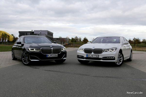 BMW 7er G11 Vergleich