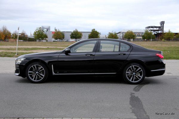 BMW 7er G11 LCI Seite