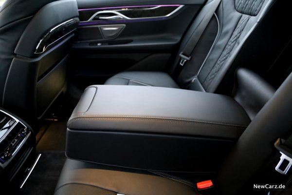 BMW 7er Mittelarmlehne hinten