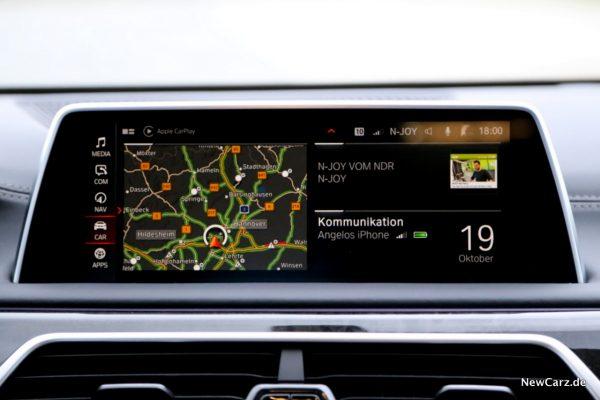 BMW 7er G11 LCI Home Screen
